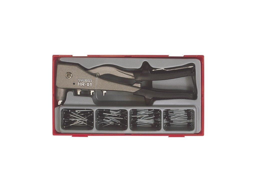 pol pl Zestaw nitownicy dzwigniowej z 80 szt nitami TENGTOOLS TTHR81 1545 1