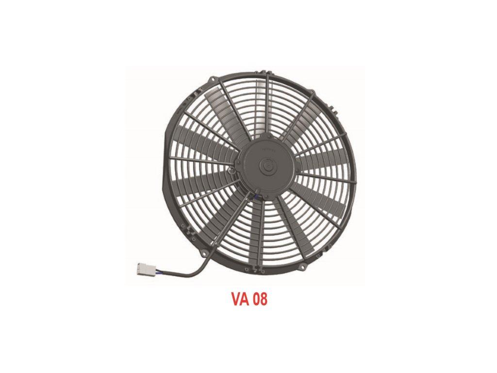 Ventilátor SPAL 12V VA08-AP10/C-23A (350 mm)