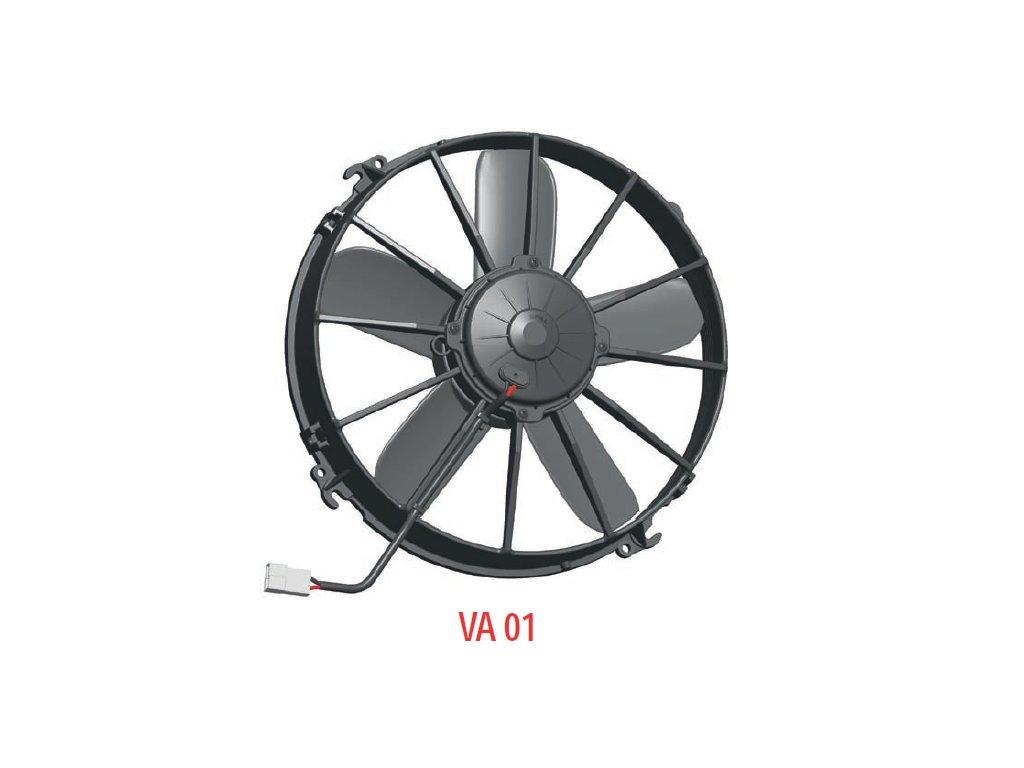 Ventilátor SPAL 12V VA01-AP70/LL-36A (305 mm)