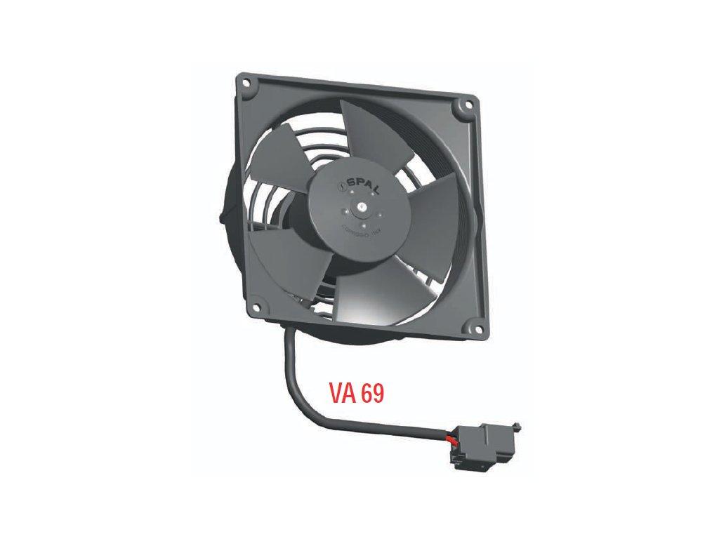 Ventilátor SPAL 12V VA69A-A101-87A SUMIT (115 mm)