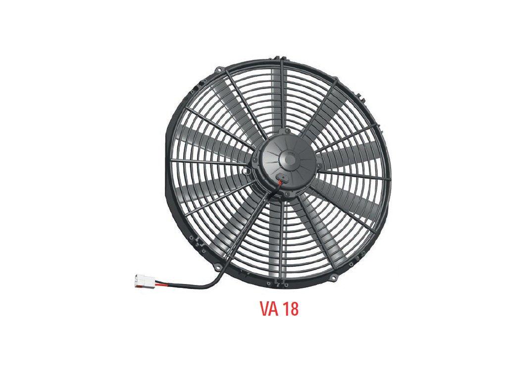 Ventilátor SPAL 12V VA18-AP10/C-41A (385 mm)