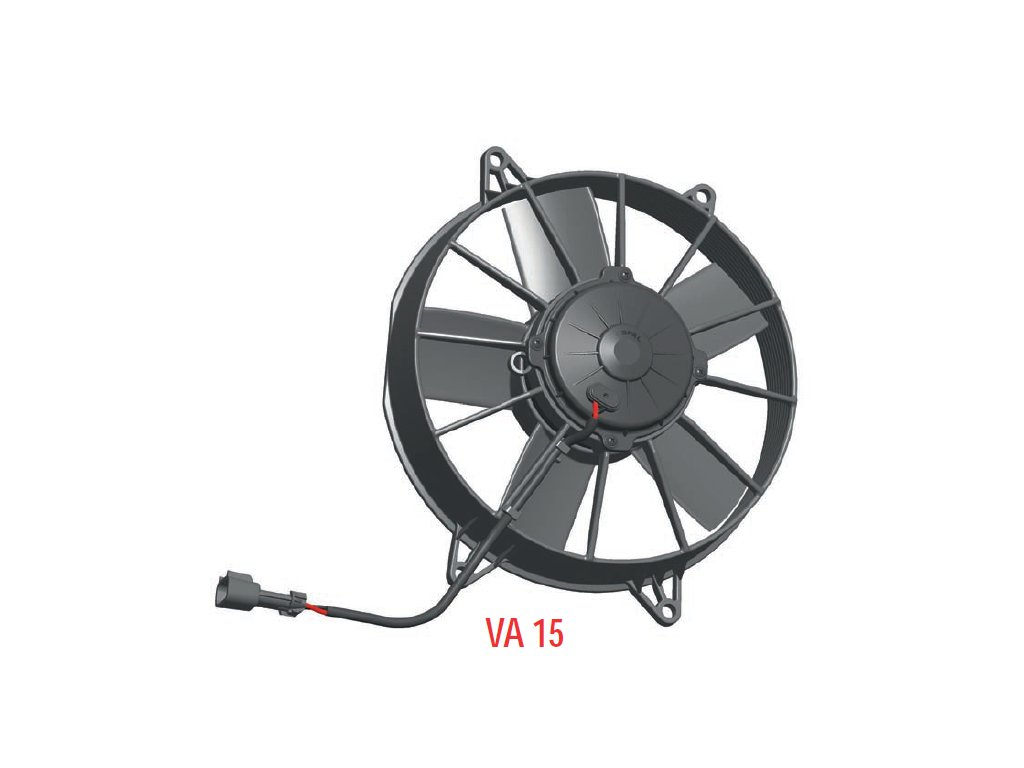 Ventilátor SPAL 24V VA15-BP70/LL-39A (255 mm)