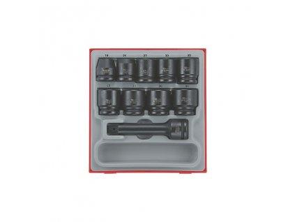 """Sada Teng Tools 3/4"""" rázových hlavic 19-38mm, nástavec 175mm"""