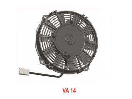 Ventilátor  SPAL 12V VA14-AP11/C-34S (190 mm)