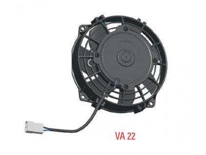 Ventilátor SPAL 24V VA22-BP11/C-50A (167 mm)