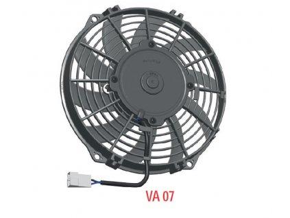 ventilátor SPAL 12V VA07-AP12/C-58S  (225 mm)