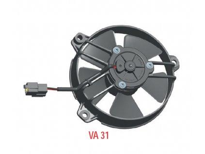 Ventilátor SPAL 12V VA31-A101-46S (130MM)