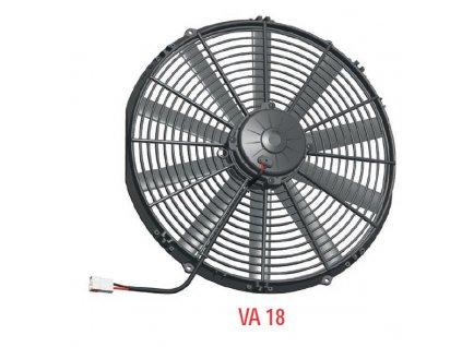 Ventilátor SPAL 12V VA18-AP51/C-41S (385 mm)