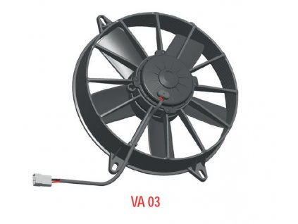 Ventilátor SPAL 12V VA03-AP70/LL-37S