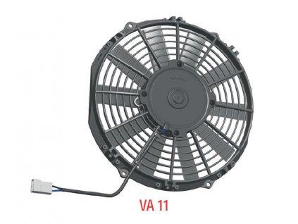 Ventilátor SPAL 12V VA11-AP8/C-29A (255 mm)