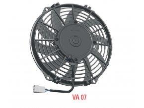Ventilátor SPAL 12V VA07-AP12/C-58A  (225 mm)